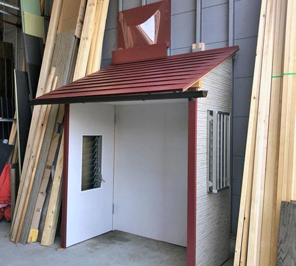 国内初のお家での雨漏り対策体験、トレーニング施設が完成しました!